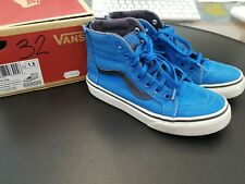 VANS SK8-HI Zip Bambino - Colore Imperial Blue - Taglia EUR 32 - CM 19,5