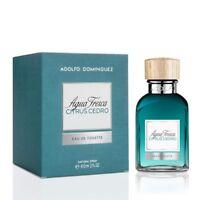 Perfume Hombre Agua Fresca Citrus Cedro Adolfo Dominguez EDT