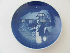 """Copenhagen Porcelain 7"""" Collectors Plate Country Christmas #9073 Limited Edition"""
