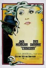 Chinatown Movie Poster 27 x 40 Jack Nicholson, Faye Dunaway, Italian A