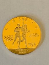 1984-W $10 Olympic Gold Commemorative Coin.