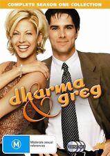 Dharma & Greg : Season 1 (DVD, 2007, 3-Disc Set) -- Free Postage --