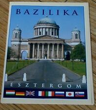 Vintage Color Photo Information Tour Pamphlet, Bazilika Esztergom, Vg Cond