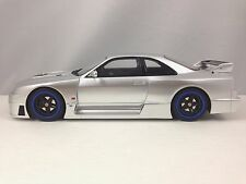 Otto Mobile Ottomobile Nissan Skyline R33 Nismo GT-R LM Silver Resin 1/18