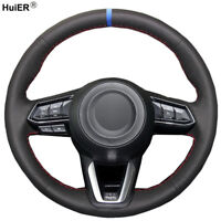 Hand Sewing Car Steering Wheel Cover For Mazda 6 Atenza 2004-2009 Pentium B70