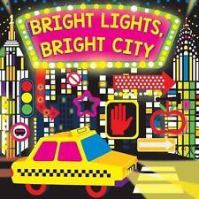Fluorescent Pop!: Bright Lights, Bright City by Hunter Reid (2017, Board Book)