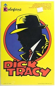 S794. Walt Disney's DICK TRACY Play Set by Colorforms (1990) COMPLETE & SEALED
