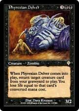 PHYREXIAN DELVER Invasion MTG Black Creature — Zombie RARE