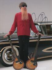 """Billy Gibbons """"ZZ Top"""" autógrafo signed 20x30 cm imagen"""