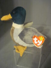 "PLUSH TY BEANIE BABY  DUCK ""JAKE """