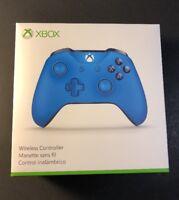 Microsoft XBOX ONE Wireless Controller [ BLUE Edition ] NEW