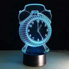 3D illusion Visual Night Light 7 Colors Change LED Desk Lamp Bedroom Decor A