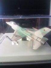"FRANKLIN MINT ARMOUR DIECAST 1:100 F-16 FALCON US NAVY ""TOP GUN""  #5012"