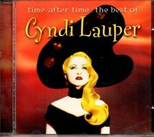 Cyndi Lauper ‎– Time After Time - The Best Of Cyndi Lauper CD 2001