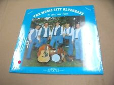 VINYL ALBUM RECORD,*SEALED* THE MUSIC CITY BLUEGRASS TO YOU OUR FANS, VOL 2