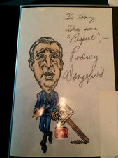 RODNEY DANGERFIELD Signed / Autograph Picture / Drawing 1970's