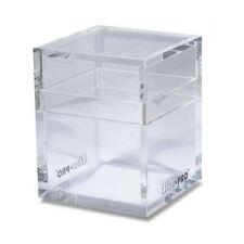 Ultra Pro ICE TOWER Clear Thick Heavy Acrylic Handmade Deck Box MTG Magic 84413