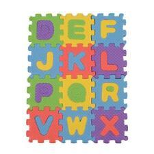 Mini 36pcs Puzzle Kid Toy Alphabet A-Z Letters Numeral Foam Mat New C