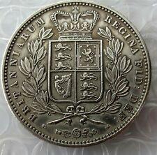 Queen Victoria Crown 1839 Young Bust VICTORIA DEI GRATIA BRITANNIARUM REGINA FID