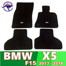 BMW X5 CARPET FLOOR MAT SET 2013 - 2018 F15 CUSTOM FIT Guaranteed BLACK