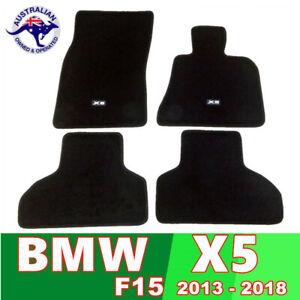 BMW X5 CARPET FLOOR MAT SET 2013 - 2018 F15 CUSTOM FIT Guaranteed BLACK