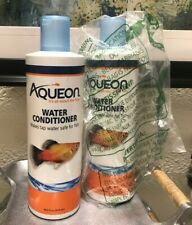 Aqueon Tap Water Conditioner,Makes Tap Water Safe For Fish (8 -16 oz) - 2 pack