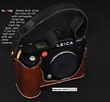 *LUIGI GENIUS WRIST STRAP,FOR LEICA SL 601,S2, MOST CAMERAS W/RECTANGULAR LUGS !
