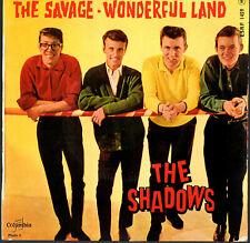 "THE SHADOWS   EP  COLUMBIA  ESRF 1459   "" THE SAVAGE ""   [France]"