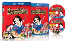 Disney's Snow White and the Seven Dwarfs Blu ray + DVD Set - Region Free (NEW)