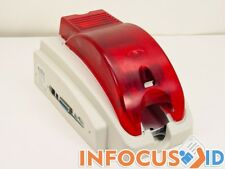 Refurbished Evolis Pebble 2 Plastic ID Card Printer with Starter Pack & Support