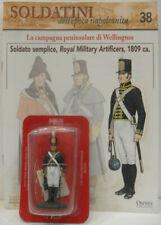 "Soldatini Napoleonici in piombo ""SOLDATO SEMPLICE Royal military artificers 1809"