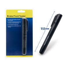 1)Brake Oil Fluid Tester LED Moisture Liquid Tool Car Vehicle Test Indicator Pen