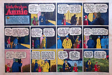 Little Orphan Annie by Gray - large half-page color Sunday comic - Jan. 9, 1944