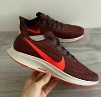 NIKE MENS AIR ZOOM PEGASUS 36 - UK 14/US 15/EUR 49.5 - MAHOGANY/RED (AQ2203-200)
