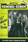 Bastei Kriminal Roman - Band 99 (Original/D/) selten