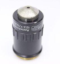 Zeiss Jena Apochromat 12.5x 0.35 Infinity Microscope Objective M25 Jenamed