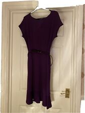 WALLIS Size 16. Ladies Purple Winter Dress