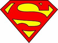Superman Logo Sticker / Vinyl Decal    10 Sizes!!! with TRACKING