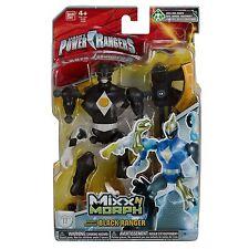 MIGHTY MORPHIN POWER RANGERS MIXX n MORPH BLACK RANGER #smar17-24a