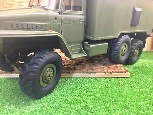 WPL scale tire for B-36 KAMAZ set Handmade unique