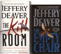 Complete Set Lot of 14 Lincoln Rhyme books Jeffery Deaver Bone Collector Coffin