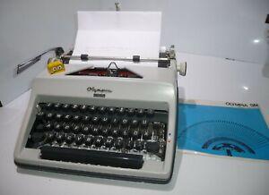 Olympia Typ Monica  mechanische alte Schreibmaschine