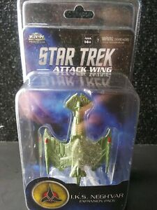 Star Trek Attack Wing I.K.S. Negh'var Expansion Pack Klingon Flagship