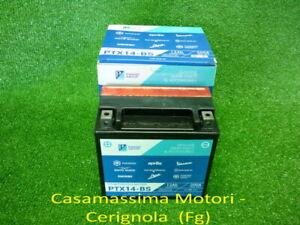 BATTERIA PIAGGIO PTX14-BS 12V 12AH - BEVERLY 250-300 TOURER-400-500 -CARNABY 250