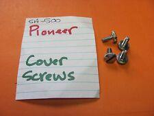 PIONEER SA-500 AMPLIFIER METAL/WOOD COVER SCREWS