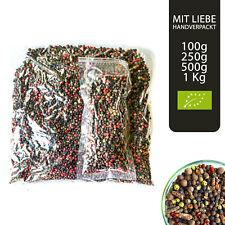 Bio Bunter Pfeffer ganz - 7 Pfeffer Mischung ganz in Premium Gourmet Qualität