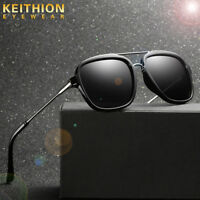 KEITHION Mens Retro Metal Polarized Sunglasses Glasses Driving Outdoor Eyewear