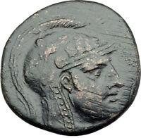 Sinopein Paphlagonia 105BC MITHRADATES VI Time Perseus Medusa Greek Coin i64871
