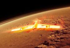 Style Rétro Mars NAVETTE SPATIALE SPACE ROCKET-sans Adoucisseur RESIN MODEL KIT