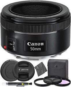 Canon EF 50mm f1.8 STM: (0570C002) Nifty Fifty EF 50 mm f/1.8 Stepper Motor Full